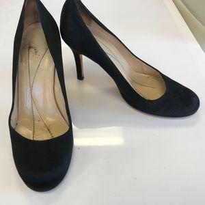 KATE SPADE BLACK Kitten Heels Size 6